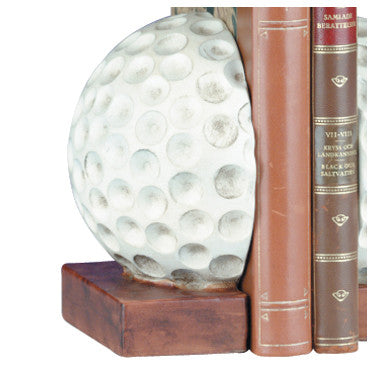 Golf Ball Bookends