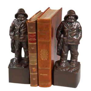 Old Fisherman Bookends