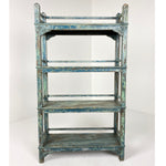 Vintage Painted Small Bookcase