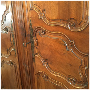 Antique French Provincial Armoire c1860