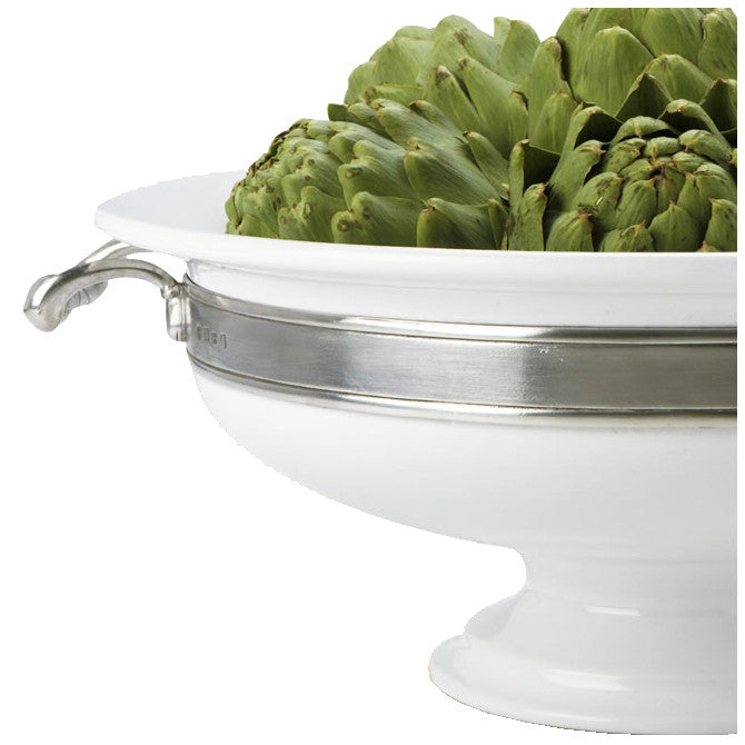 Convivio Round Centerpiece with Handles