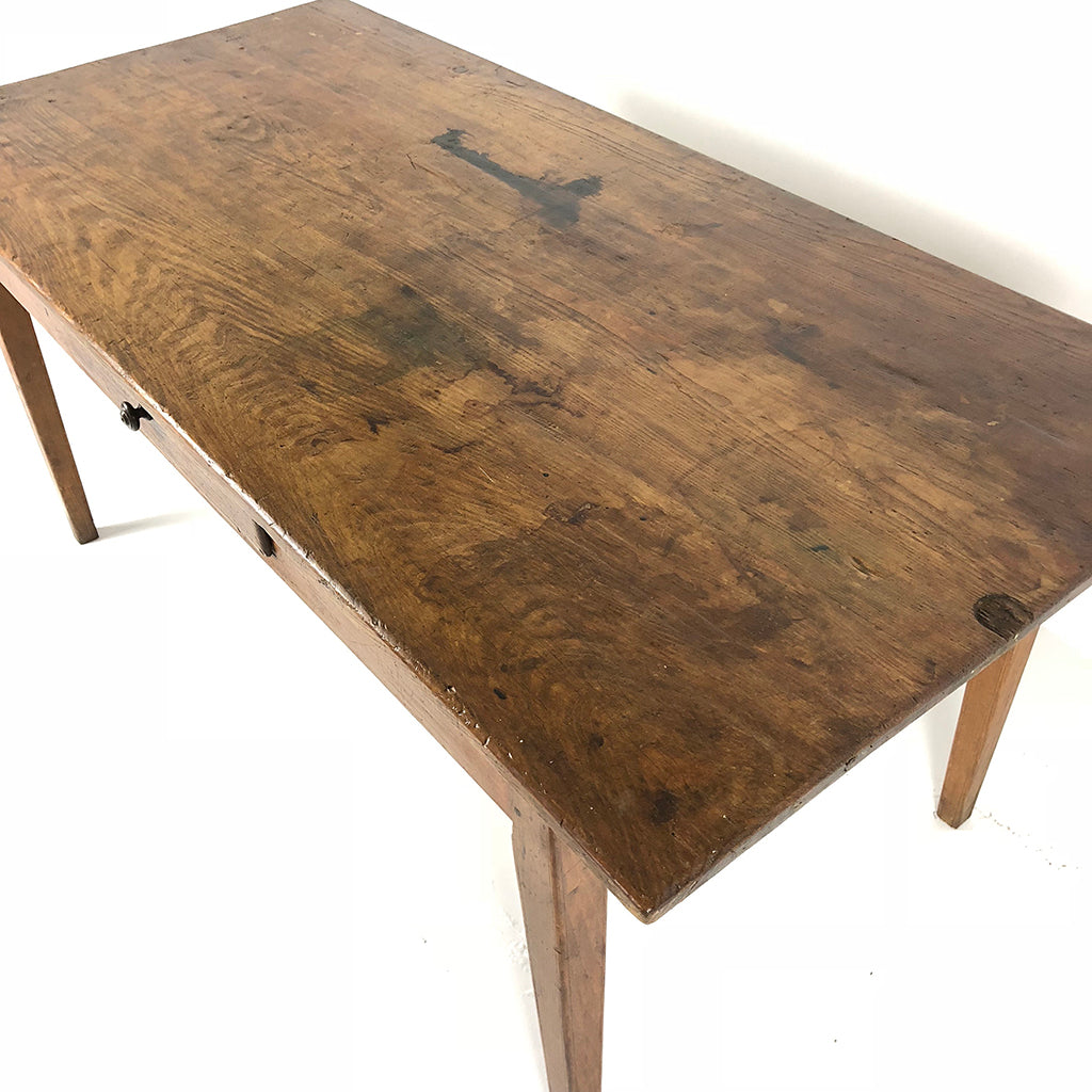 French Antique Farm Table c1890