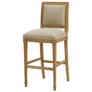 Hollis Leather Bar Stool