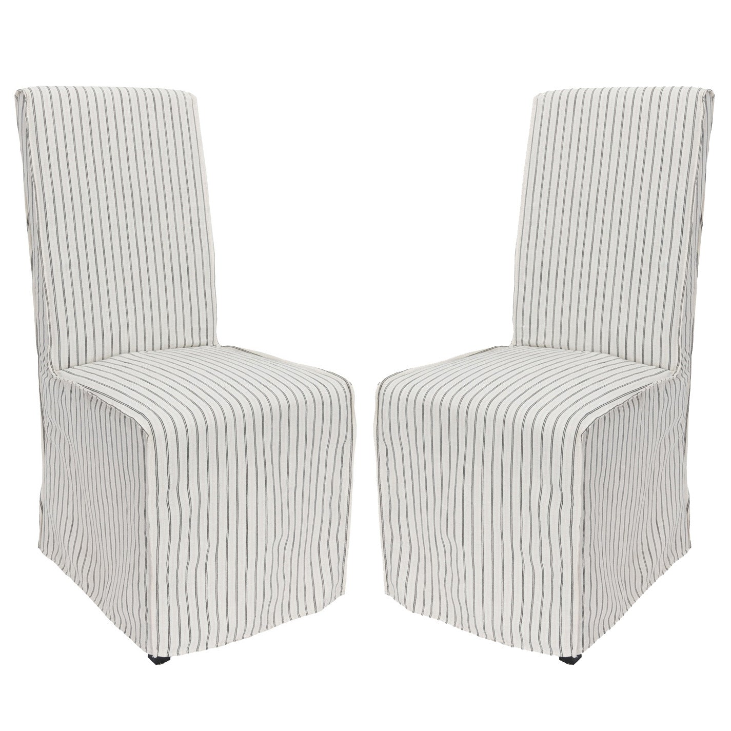 Arianna Slipcovered Dining Chair, Set of 2