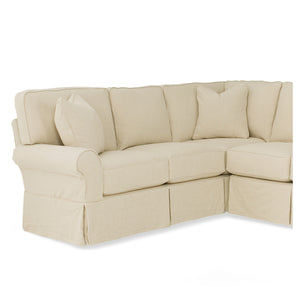 Hudson Slipcovered Sectional Series