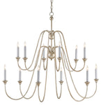 Orion Silver Large Chandelier