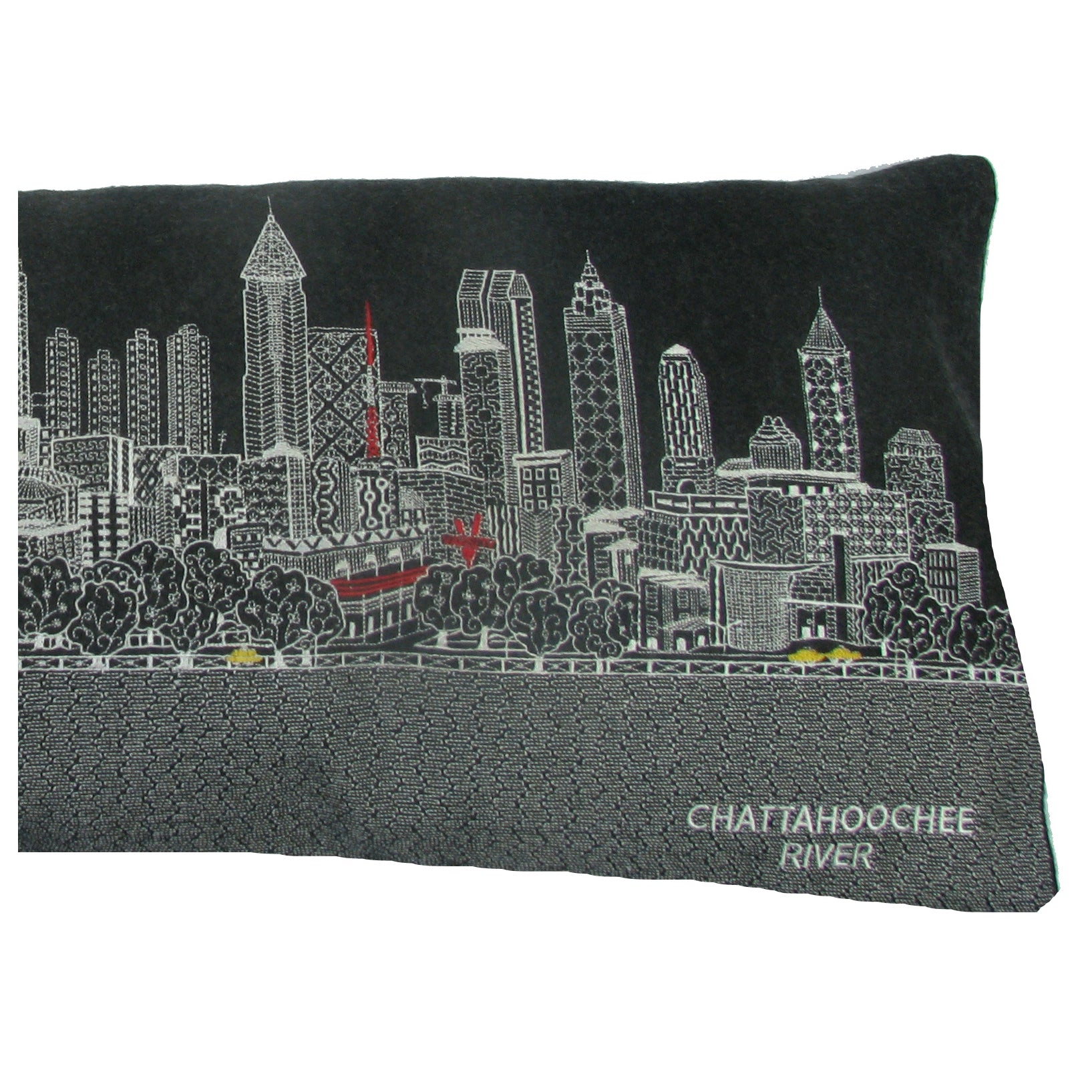 Atlanta Skyline Pillow