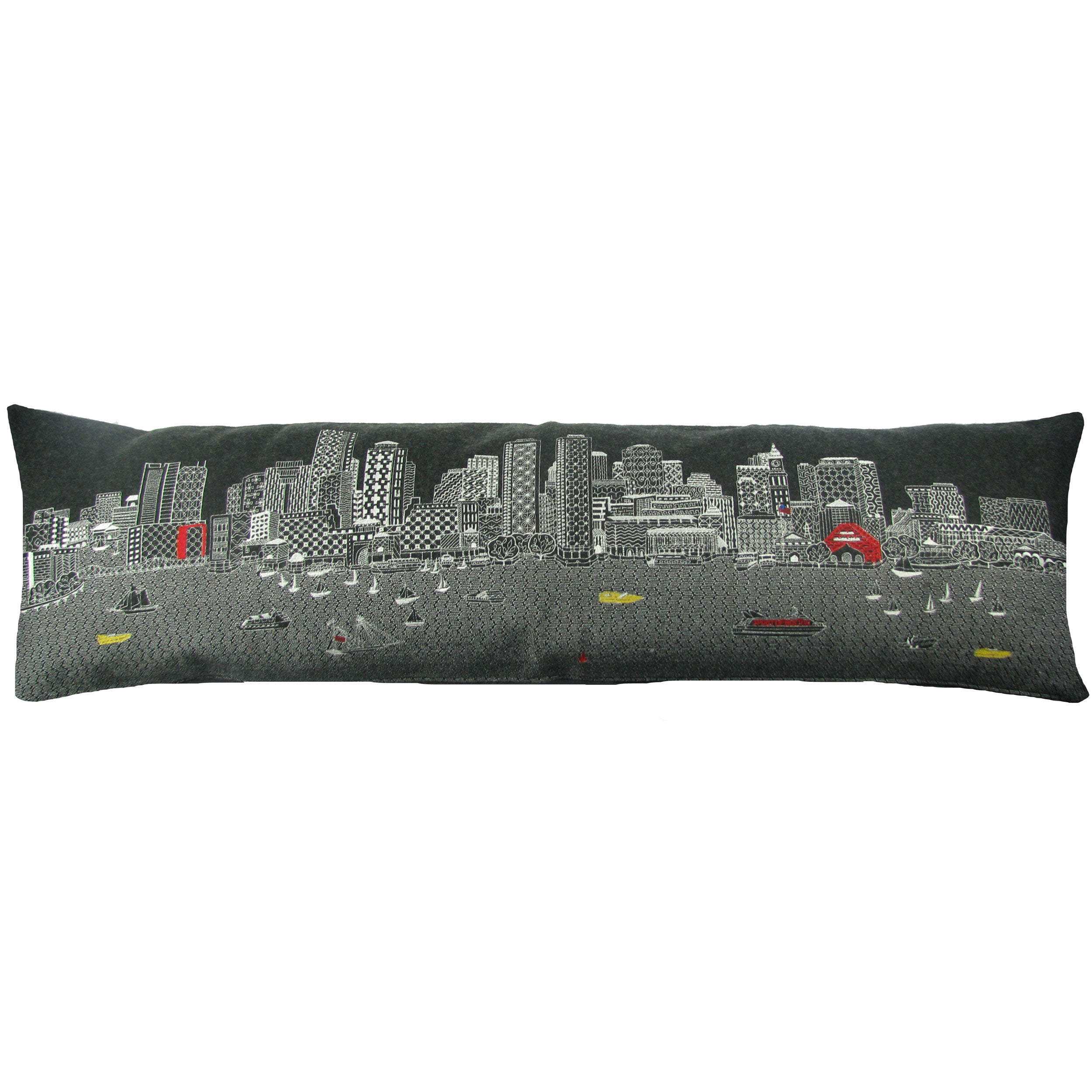 Boston Skyline Pillow