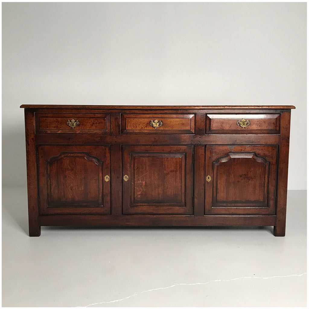 English Enclosed Low Dresser