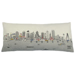 Dallas Skyline Pillow