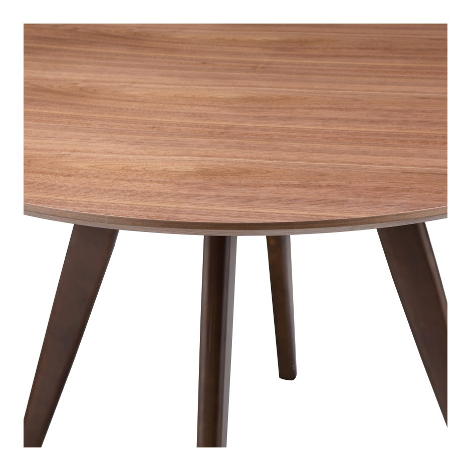 Dover Small Round Walnut Dining Table