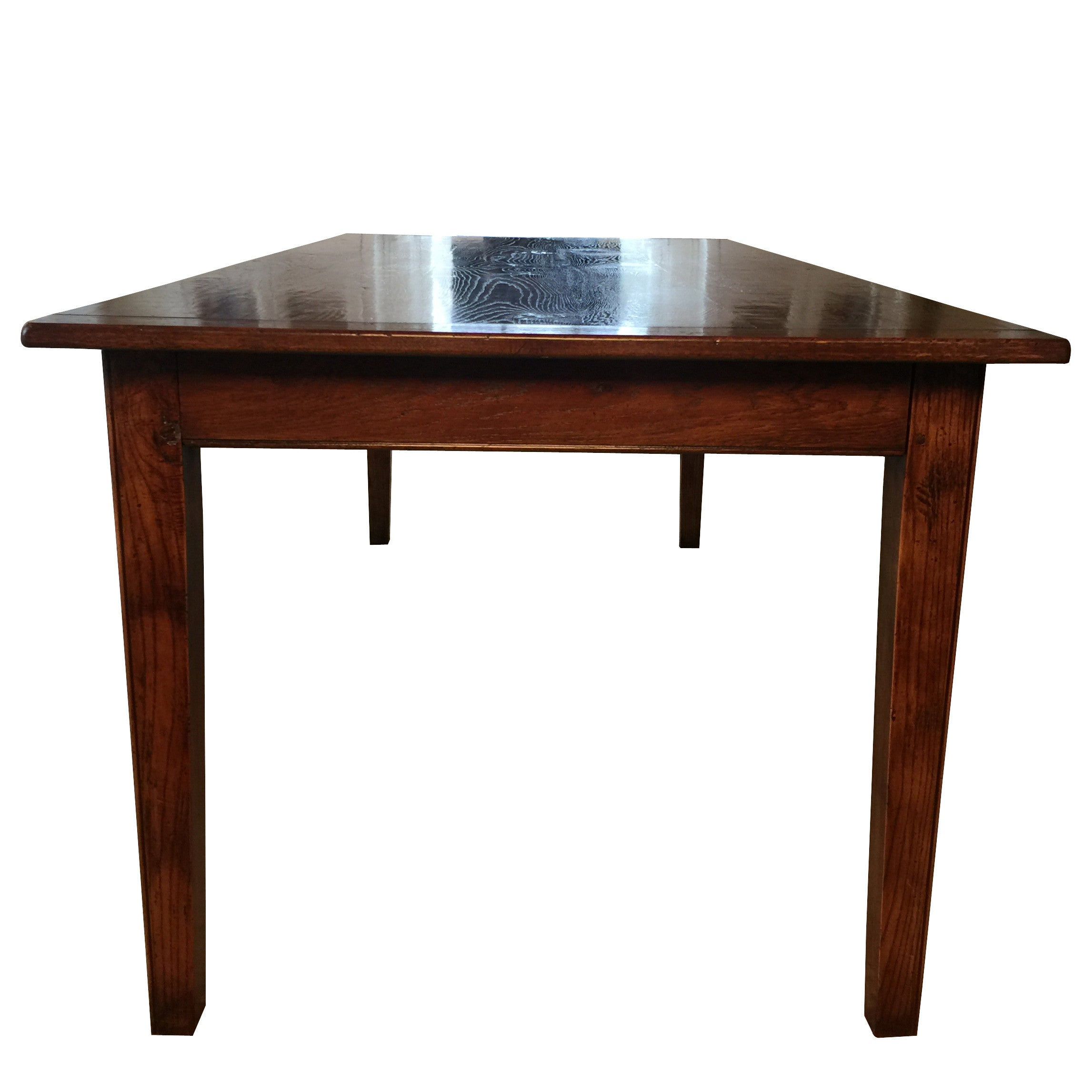English Farm Table with Expandable Ends