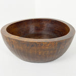 Vintage Carved Wooden Bowl c1940