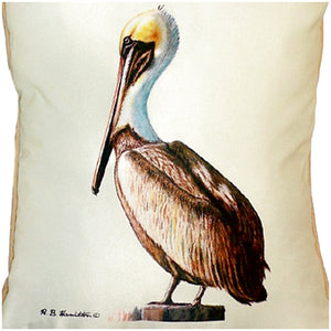 Pelican Indoor/Outdoor Pillow
