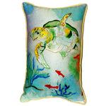 Betsy's Sea Turtle Indoor/Outdoor Pillow