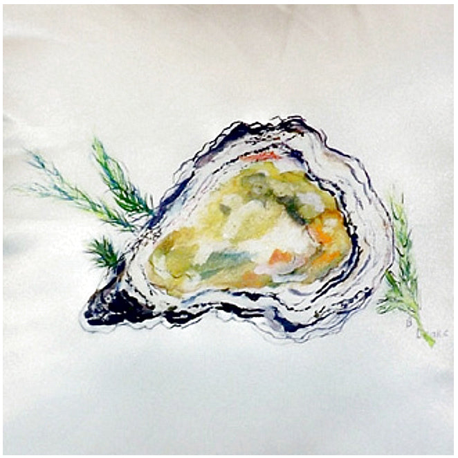 Oyster Indoor/Outdoor Pillow