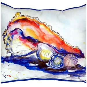 Betsy's Conch Indoor/Outdoor Pillow