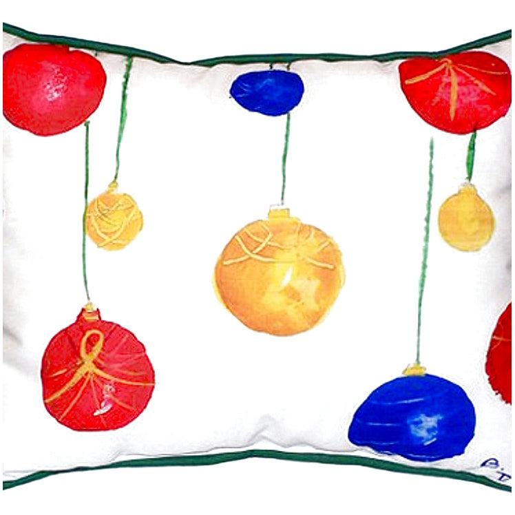 Christmas Ornaments Indoor/Outdoor Pillow