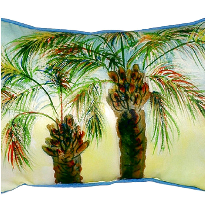 Betsy's Palms Indoor/Outdoor Pillow