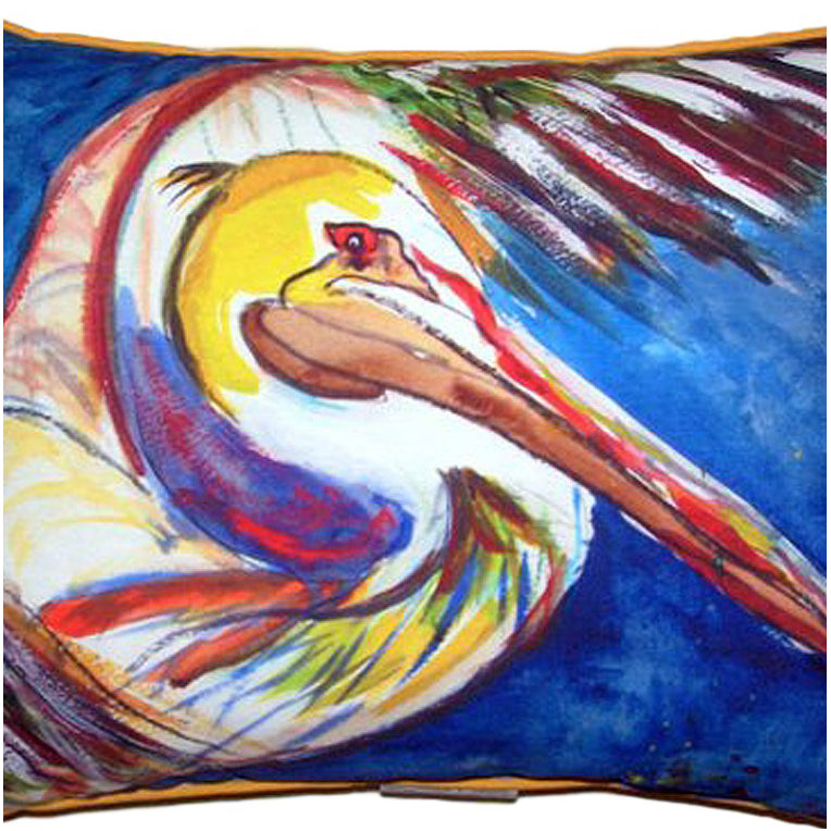 Pelican Wing Indoor/Outdoor Pillow