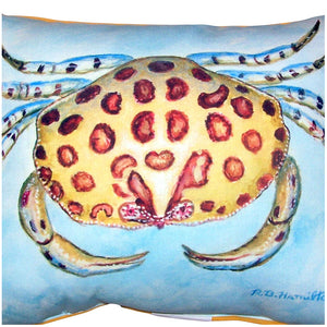 Calico Crab Indoor/Outdoor Pillow