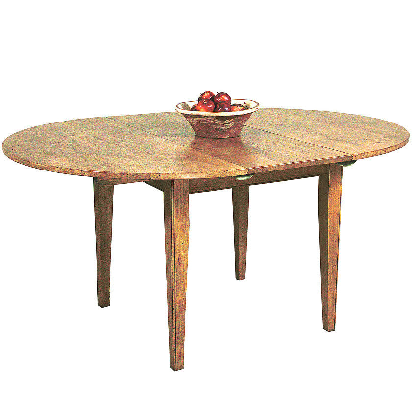 Extendible Tapered Leg Dining Table