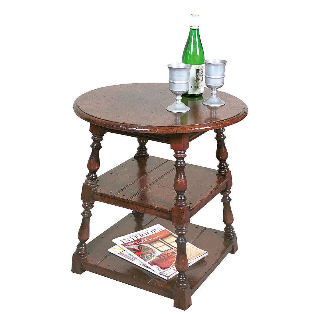 Tavern Table with Secret Drawer