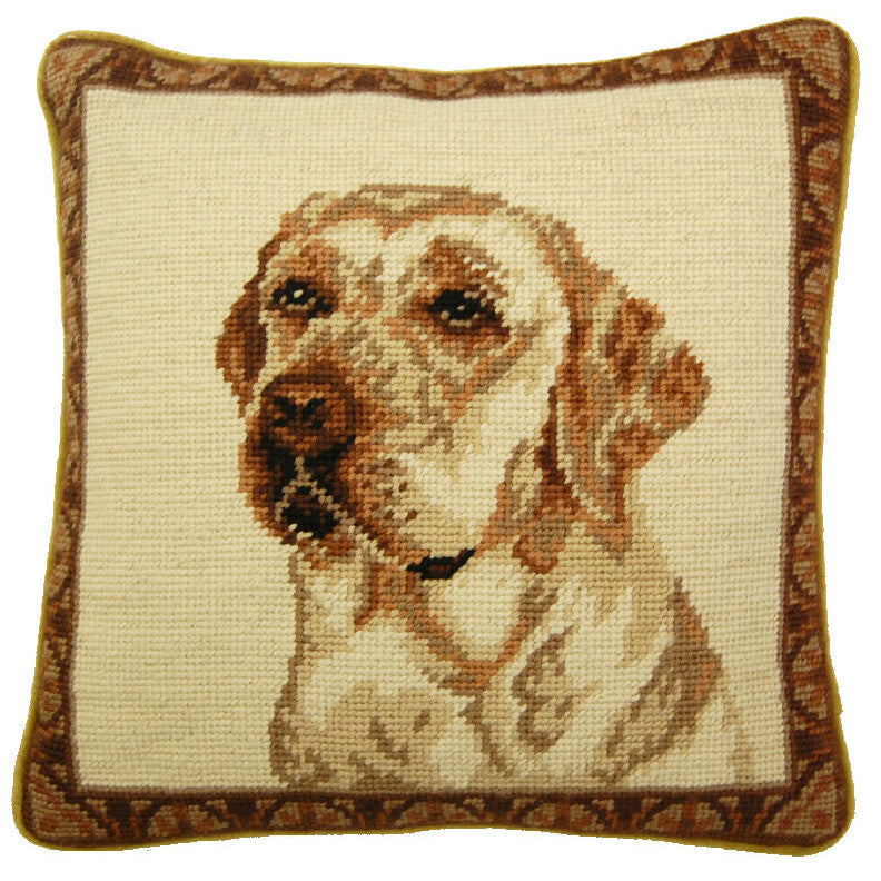 Yellow Lab Pillow