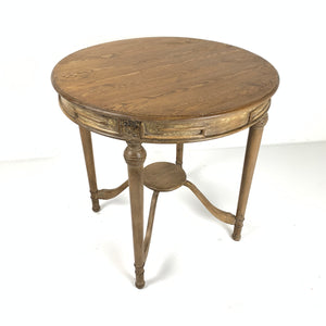 French Pine Tea Table