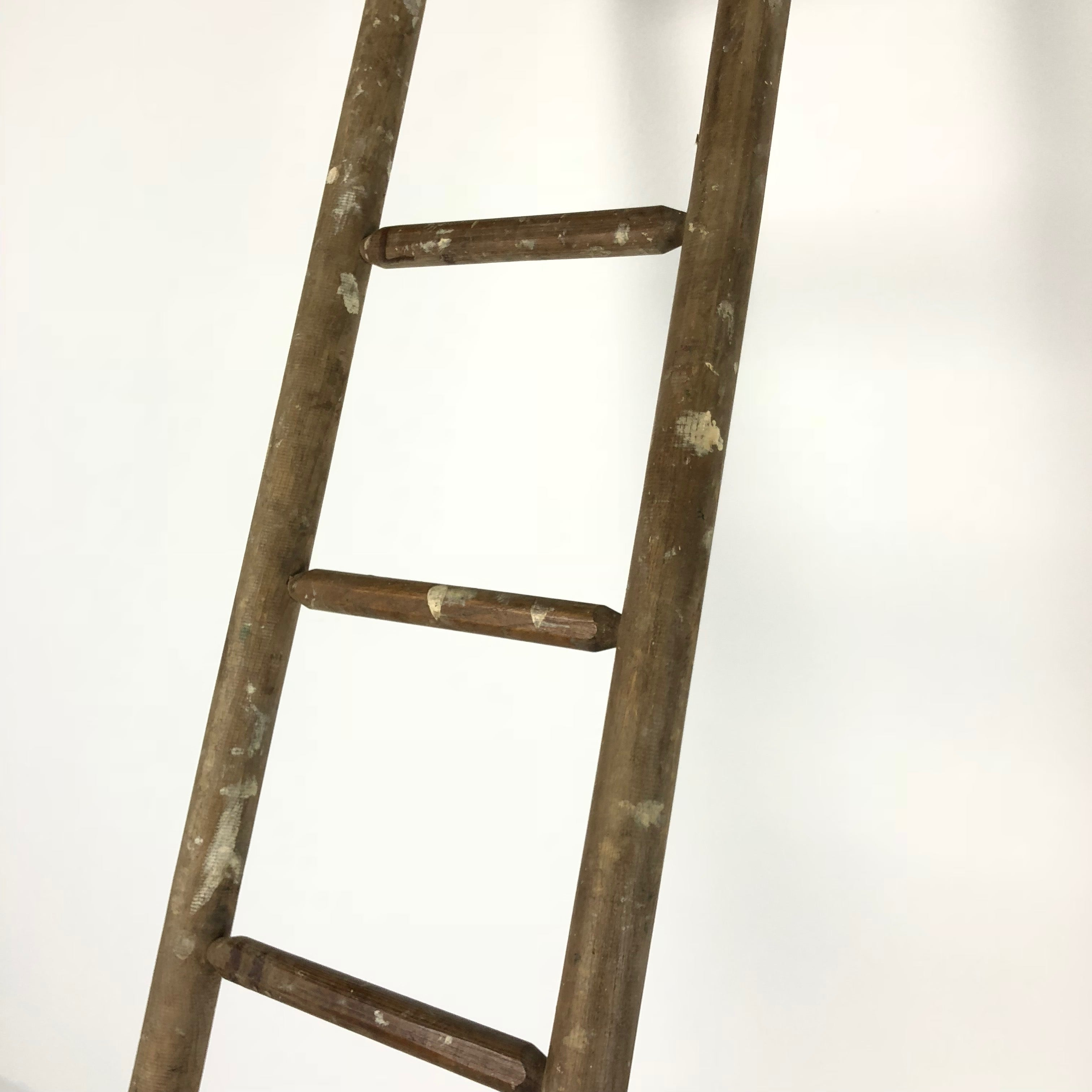 Vintage French Painters Ladder c1940