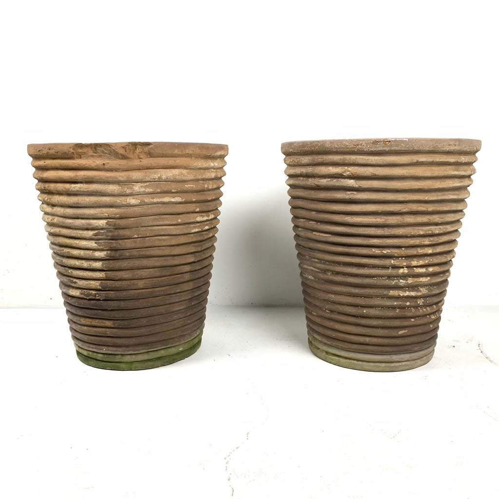 Ribbed Planters
