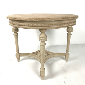 Herbert Carved Side Table
