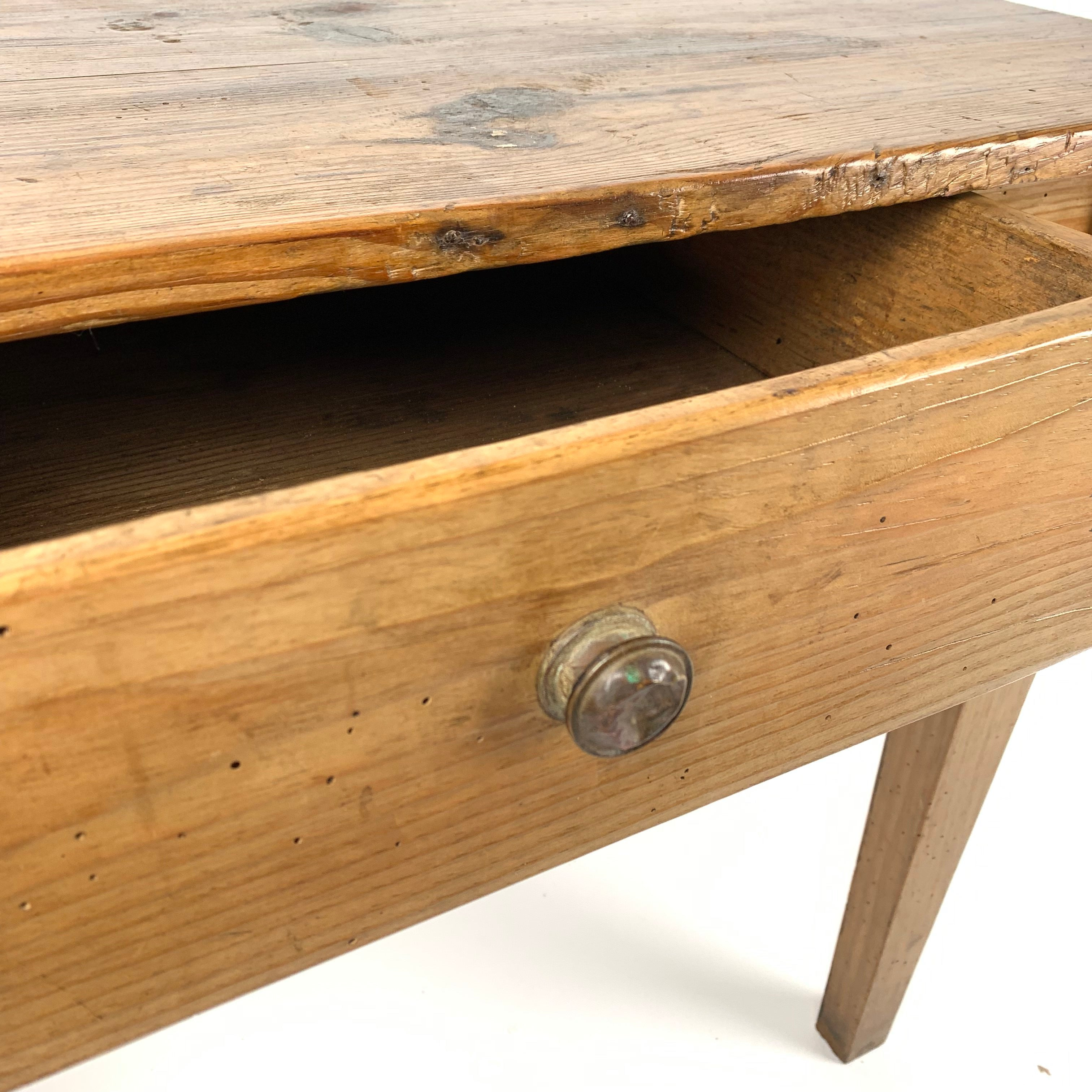 French Antique Side Table c1880