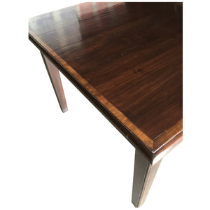 English Square Game Table