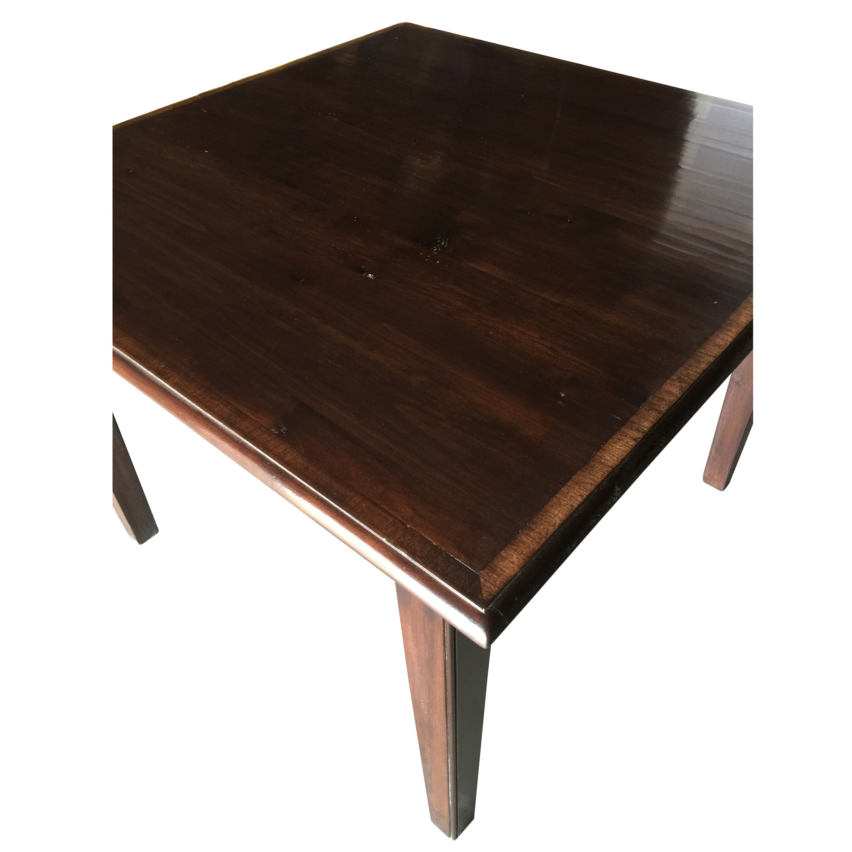 ... English Square Game Table ...