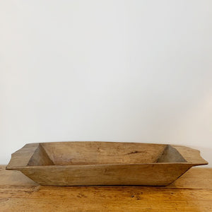 Antique Dough Bowl c1900