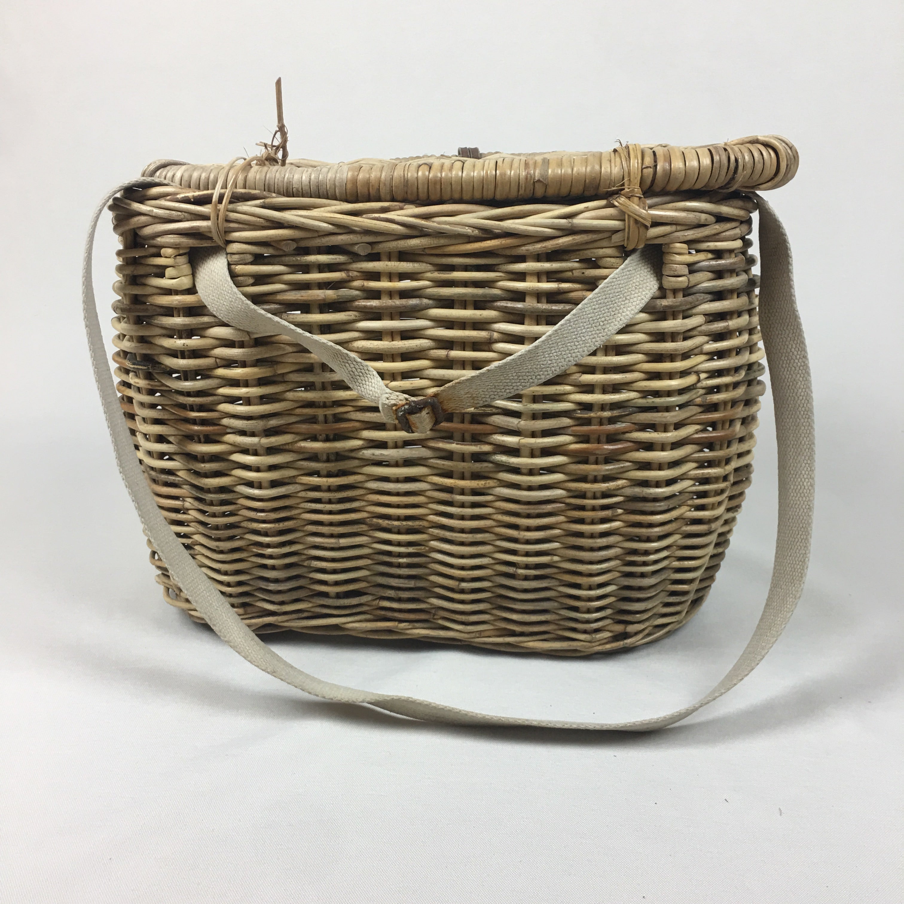 English Fishing Basket