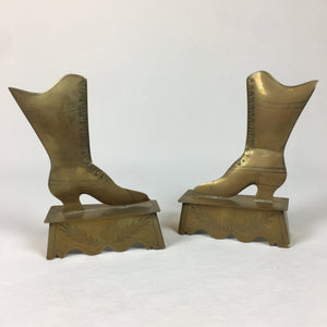 Pair of Brass Shoes