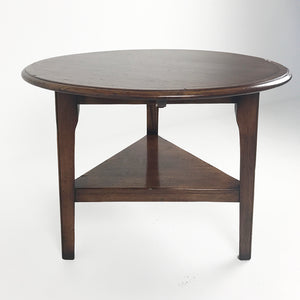 Burford Cricket Table with Shelf