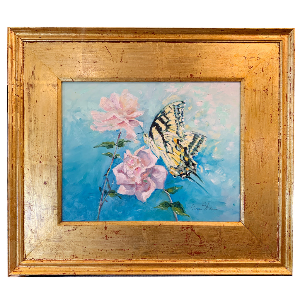"""Butterfly & Roses"" by Karin Sheer"