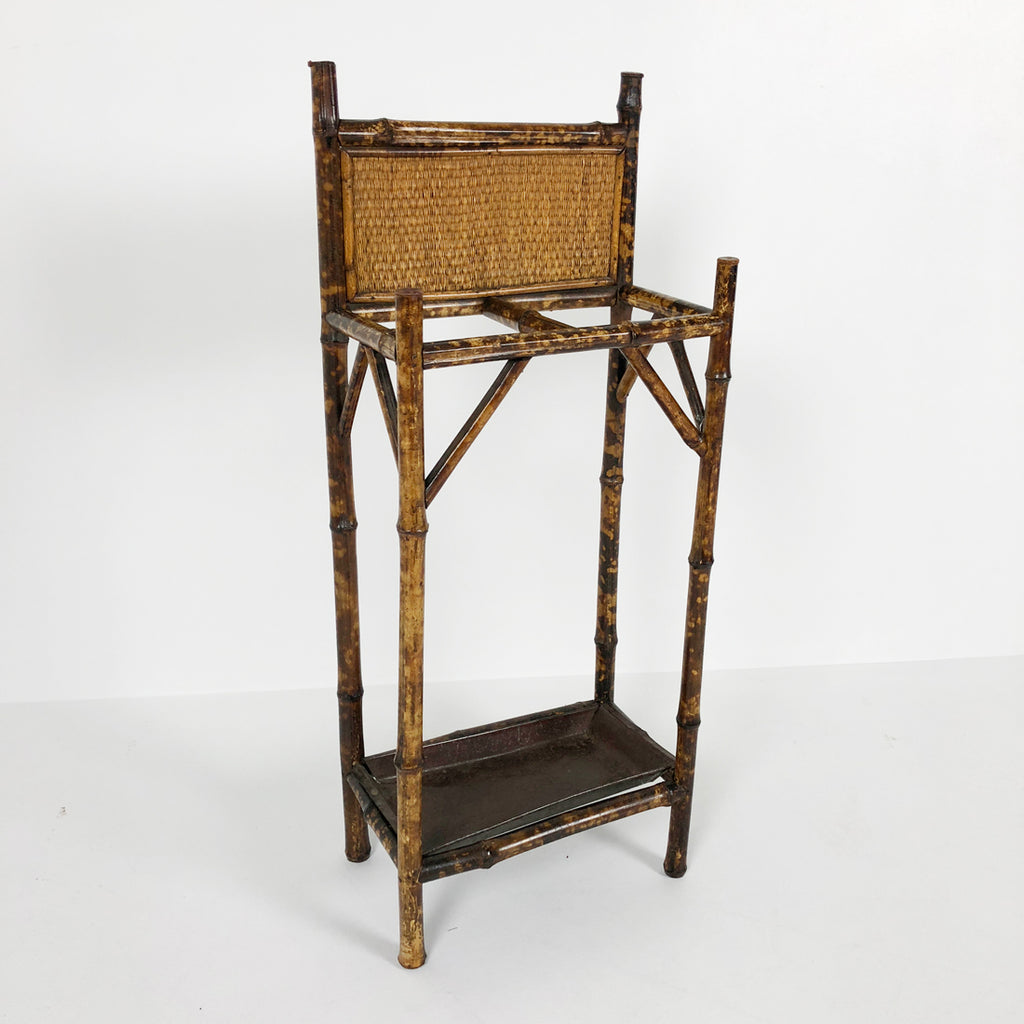 French Bamboo Umbrella Stand c1910