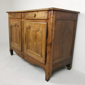 French Antique Fruitwood Buffet c1870