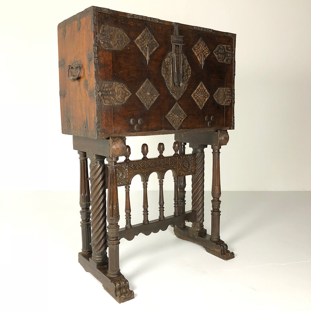 Spanish Antique Vargueno Desk c1690