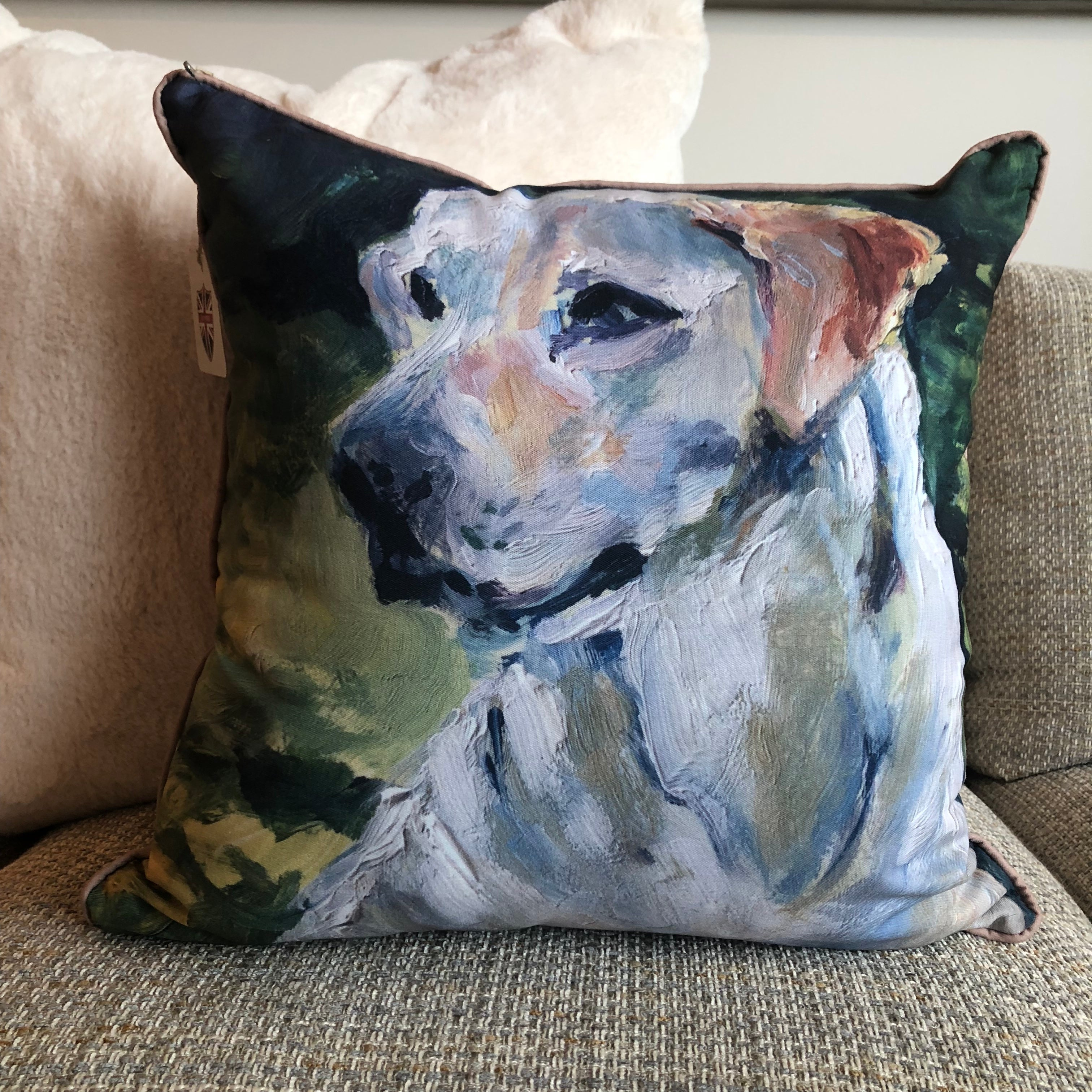 """Nigel"" by Karin Sheer Indoor/Outdoor Pillow"