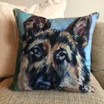 """Rex"" by Karin Sheer Indoor/Outdoor Pillow"