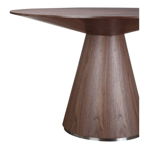 Otago Round Dining Walnut Table