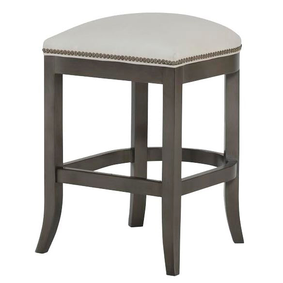 Clara Leather Counter Stool