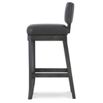 Abbey Leather Bar Stool