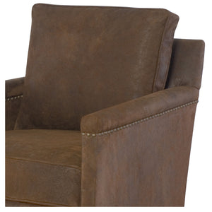 Brooklyn Leather Swivel Chair