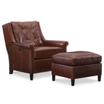 Fallon Leather Tilt Back Chair